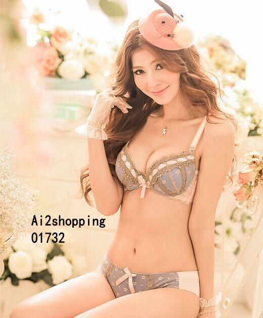 01732Korean exquisite gather/pop/sexy underwear Bra sets