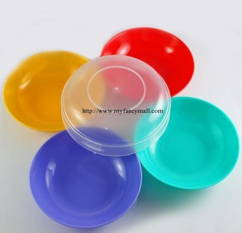 01908 Living Influx Of People Must Colored Bowl Set (4 Colors)
