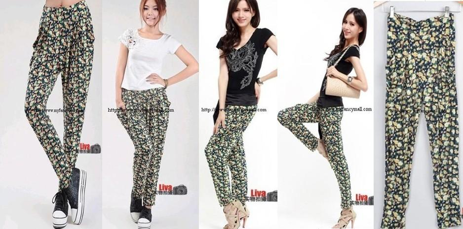02460 Korea Japan Pants Panties Trouser Pants & Shorts