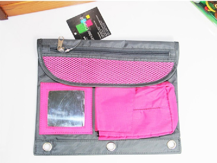 02791 New 420D Oxford cloth pouch with mirror multifunction bags