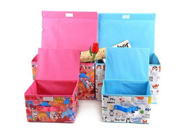 02987 New cute cartoon waterproof storage box