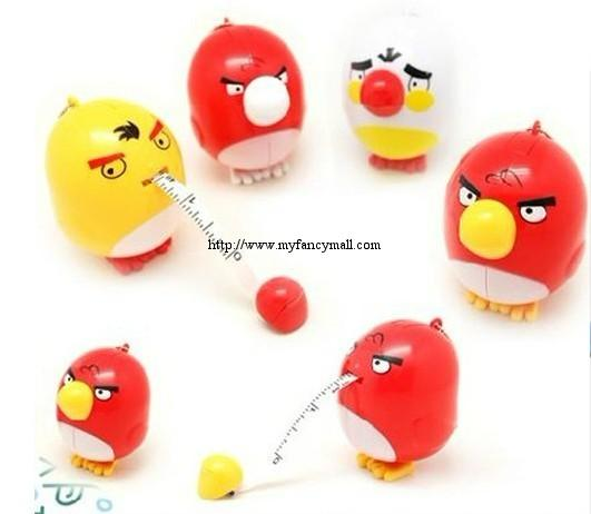 02993 Angry Bird Automatic Measure Tape