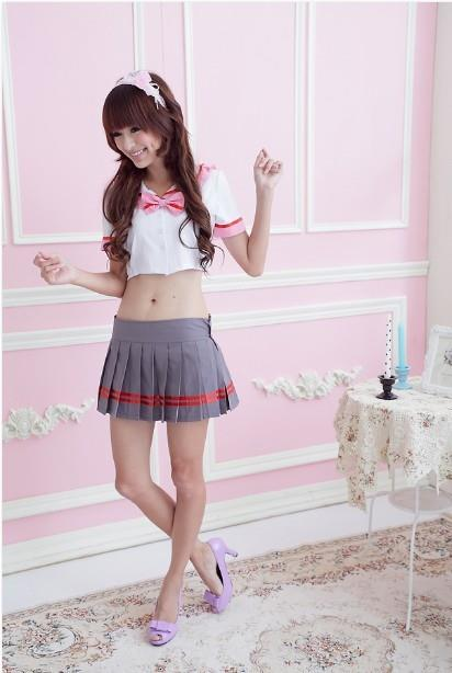 03649 Kawaii Role-playing Models Student Cosplay Set
