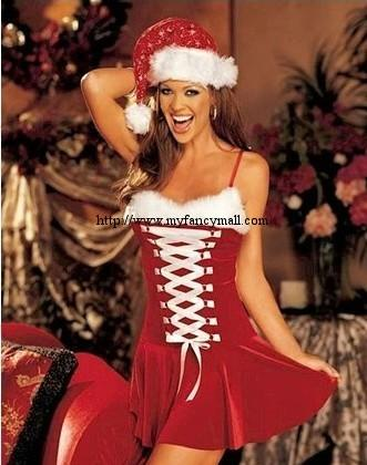 03776 European And American Style Latest Fashion Christmas Dress Suit