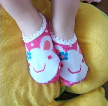 03935 Cute Japanese Children Invisible Anti Slip Sock