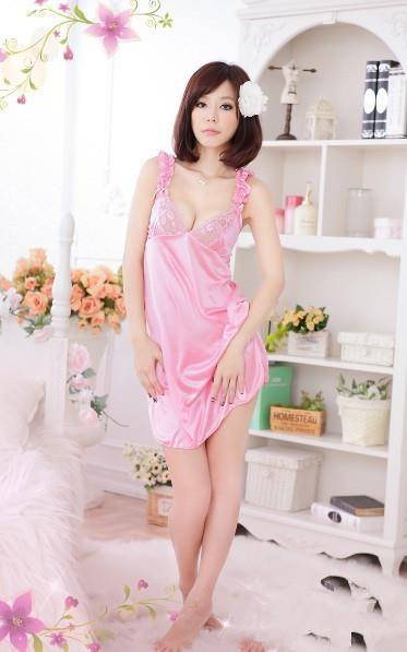 04021 Sleep Lingerie Underwear Pyjamas Nightwear Skirt +Panty