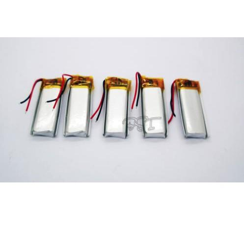 041030 3.7V 120 mAh Li-polymer Rechargeable Battery Li- ion for blueto