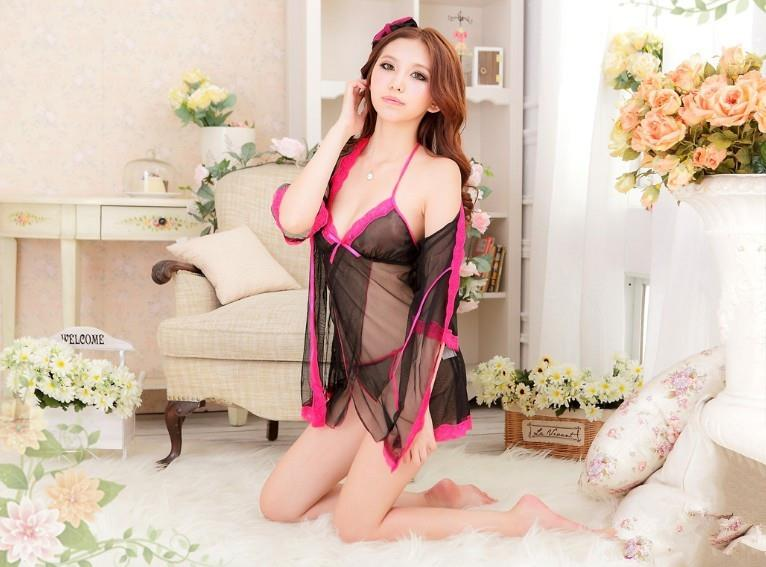 04198 Sleep Lingerie Underwear Pyjamas Nightwear Set