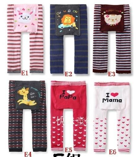 04280 Korean Cotton Cartoon Baby Pants E Paragraph