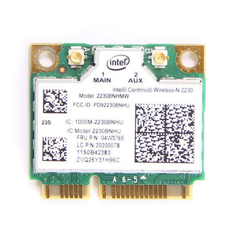 04W3765 IBM / LENOVO INTEL 2230 WIRELESS-N WIFI MINICARD LC