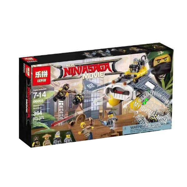 06055 Ninjago Movie: Manta Ray Bomber