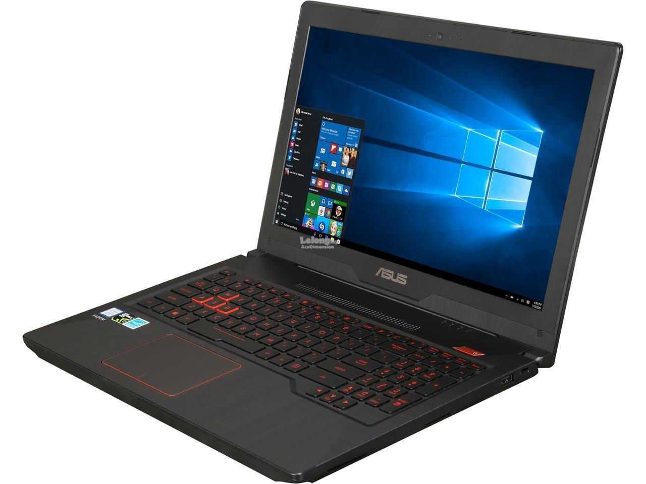 [08-Feb] Asus ROG FX503V-DE4258T Gaming Notebook *Black*