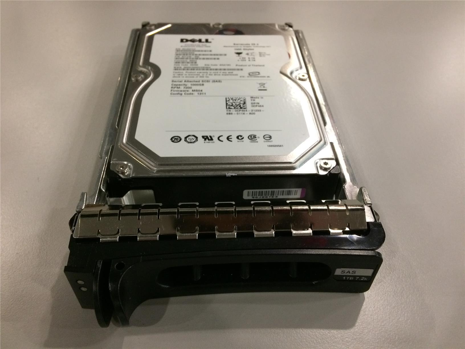 """DELL 1TB 7.2K SAS 3.5/"""" Hard Drive CP464//0CP464"""