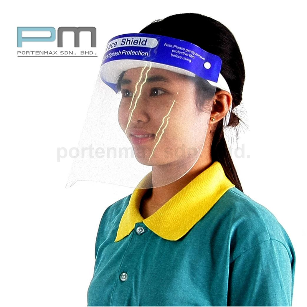 1+1 FACE SHIELD FULL PROTECTION & Protective Eyewear Safety Goggles