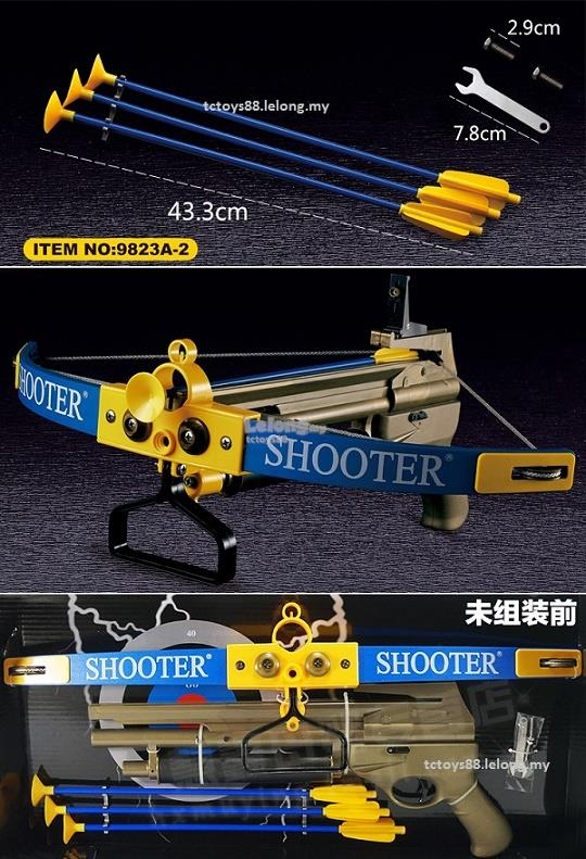 1:1 King Archer Crossbow Outdoor Sport Large Powerful Bow & Arrow Set
