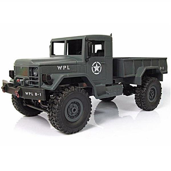 1/16 2.4G 4WD RC Crawler Off Road Car With Light RTR Toy Kids Toy RC