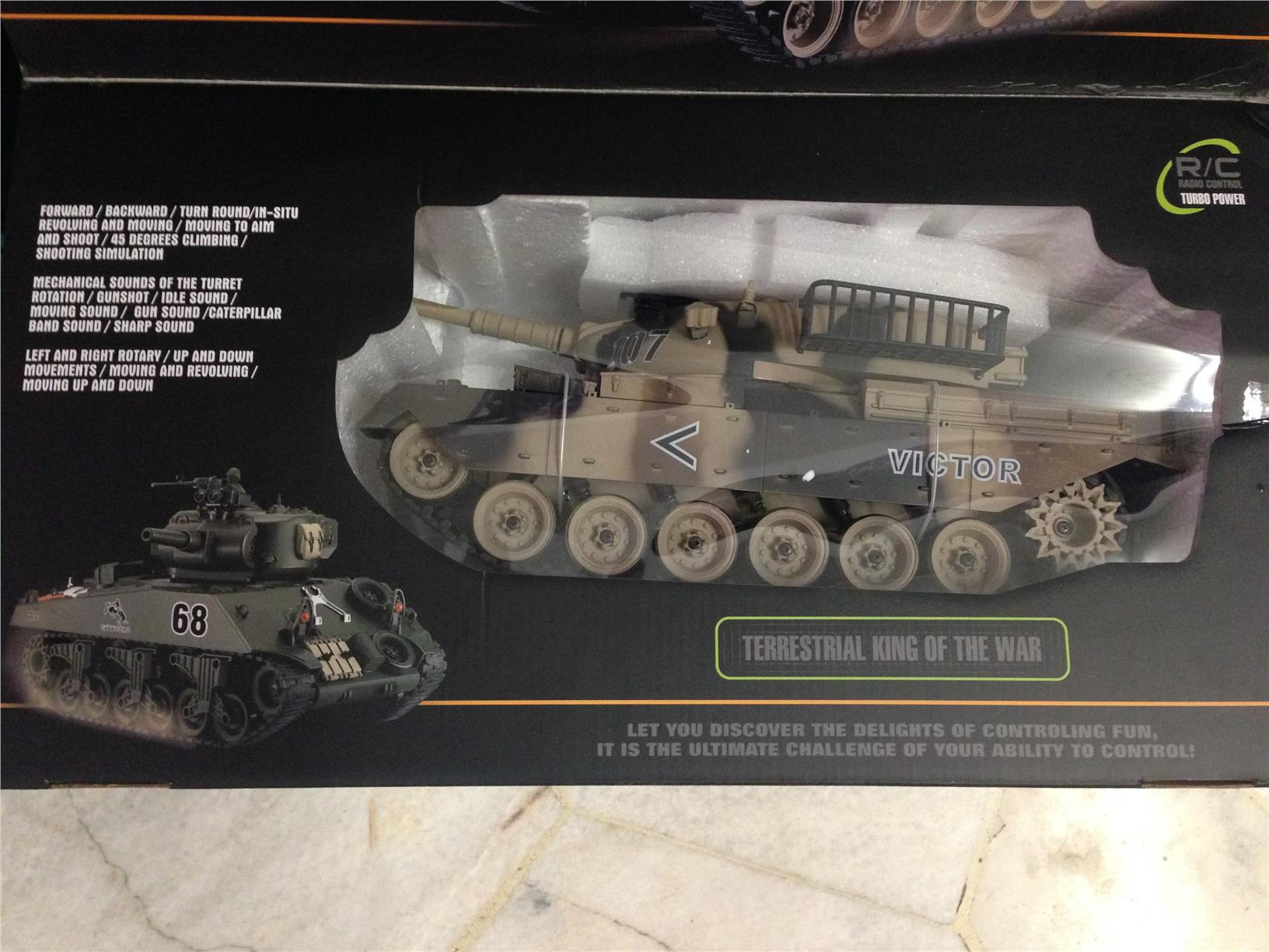 1/16 Airsoft BB RC Tank - USA M60