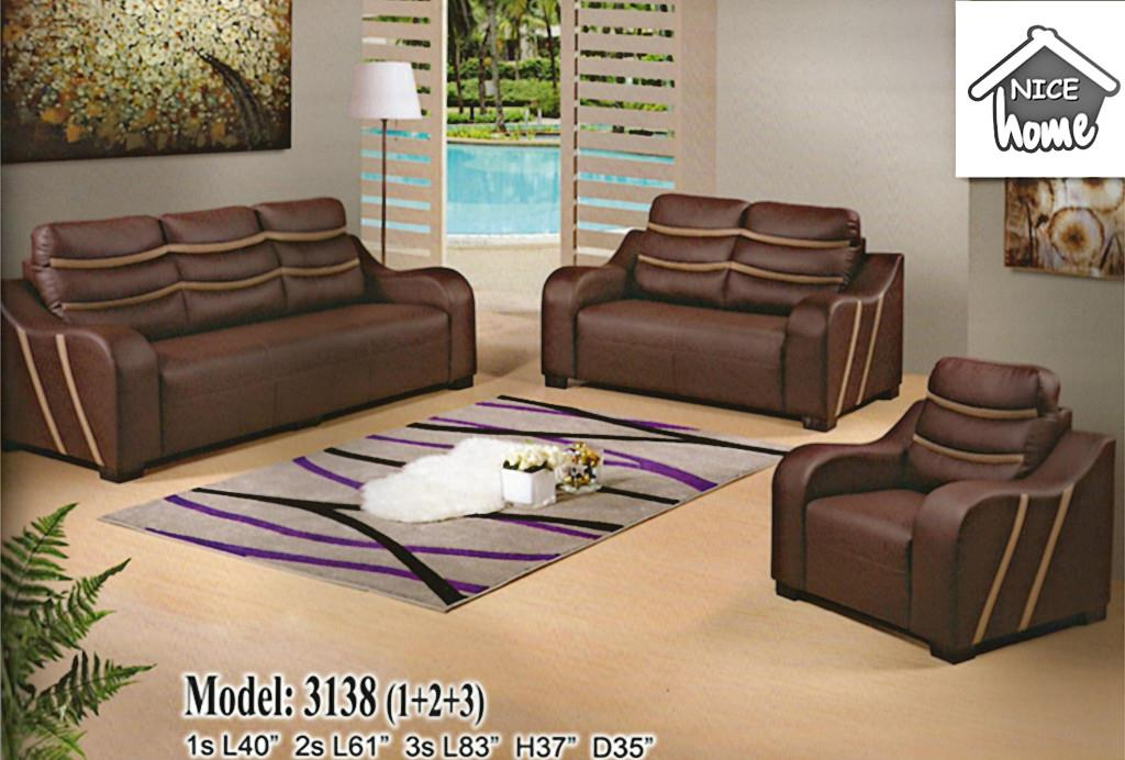 1+2+3 sofa set installment plan - 3138