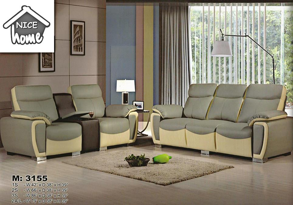 1+2+3 sofa set installment plan - 3153 casa leather