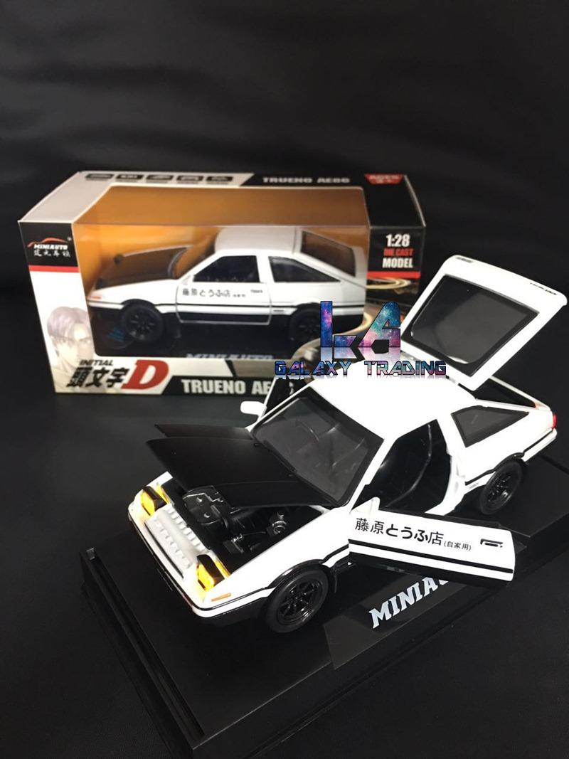 Toy Models Product : Initial d trueno ae alloy die end pm