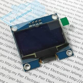 1.3-inch OLED Display Module I2C 128x64 white pixels for Arduino