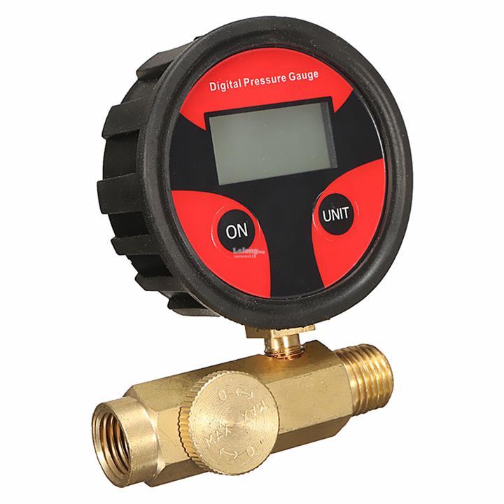 1/4 Inch 200PSI Air Pressure Regulator Gauge Pressure Regulating Valve