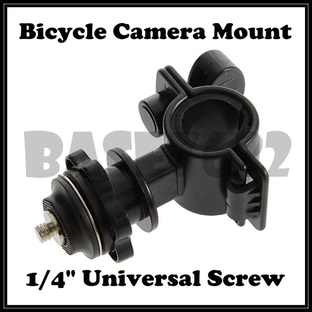 1/4 Inch  Universal Bicycle Camera  Mount Holder  Clamp Universal
