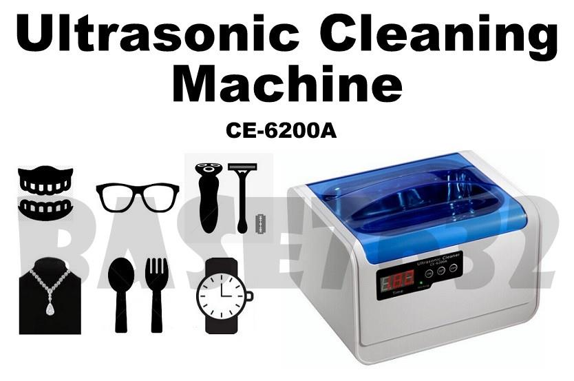 1.4L  CE-6200A Digital Ultrasonic Cleaning Cleaner Device Machine