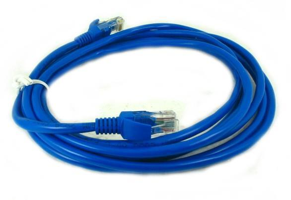 CAT5E (Speed 100mbps). 1.5m Ethernet Network Patch Cable ...