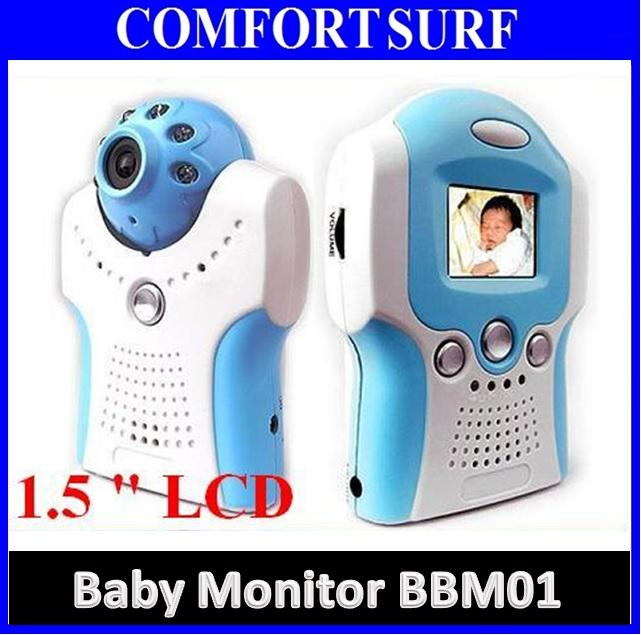 1.5' Wireless CCTV Camera: Baby Monitor (Night Vision, AV OUT, Voice)