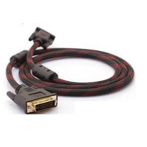 1.5M High Quality DVI Cable DVI-D (Dual Link) 24+1 Male to Male Gold Plated