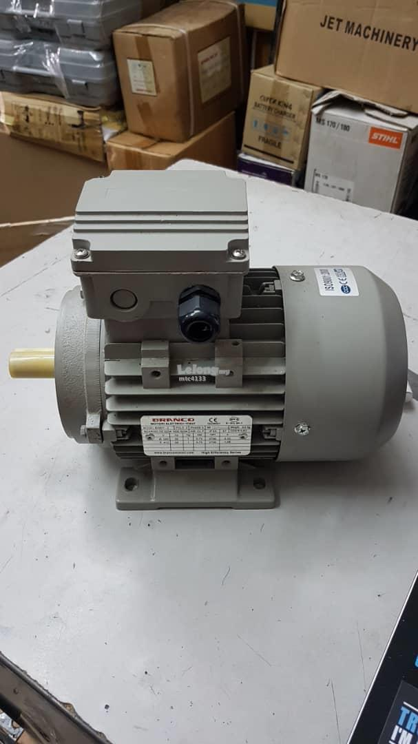 1 hp 415v 3 phase 2 pole 2730 rpm electric motor