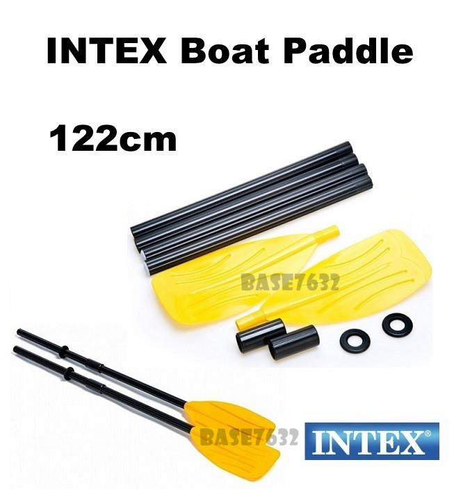 1 Pair of  INTEX 122cm 48' Inch Inches 59623 Boat Canoe Paddles Oars