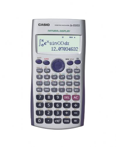 <B>1 pc Casio FX-570ES Scientific Calculator-With Natural Text display</B>