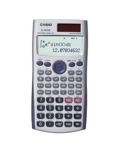 <B>1 pc Casio FX-991ES Scientific Calculator-With Natural Text display</B>