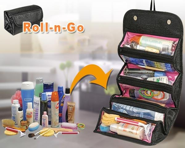 "1 pc Roll-N-Go Cosmetic bag as seen on TV New ""ROLL N' GO"""