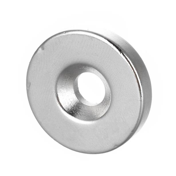 1 pcs 25x5mm hole size6mm n35 magnets