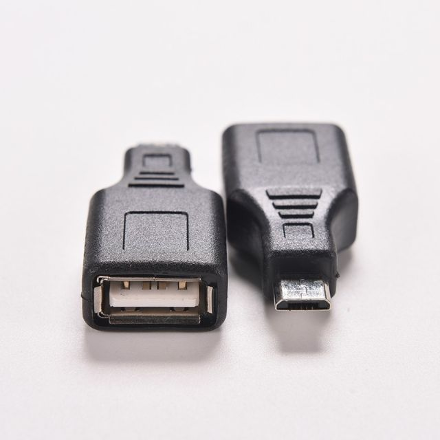 1 PCS Adapter Converter Network USB 2.0 A Female to Micro USB B 5 Pin Male Cor