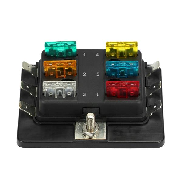 10 way blade fuse box 1 power in 6 way blade fuse box hol (end 11/17/2019 8:15 pm) blade fuse box for boats