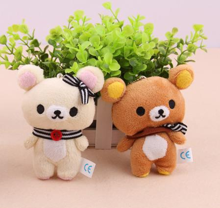1 sets of Bear Doll Keychain