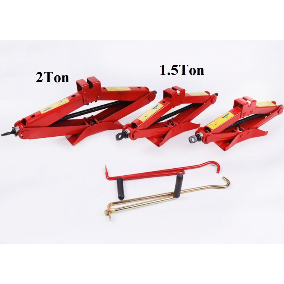 1 Ton Heavy Duty Car Jack Manual Jack Hand Jack Tyr - [2 TON CAR JACK]