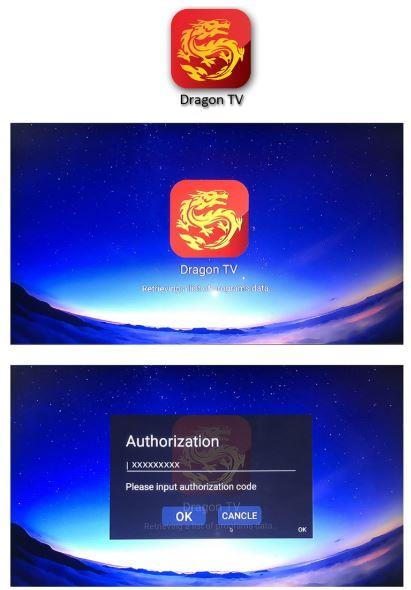 1 Year Dragon TV 500+ Live TV and 3000+ VOD IPTV for TV Box