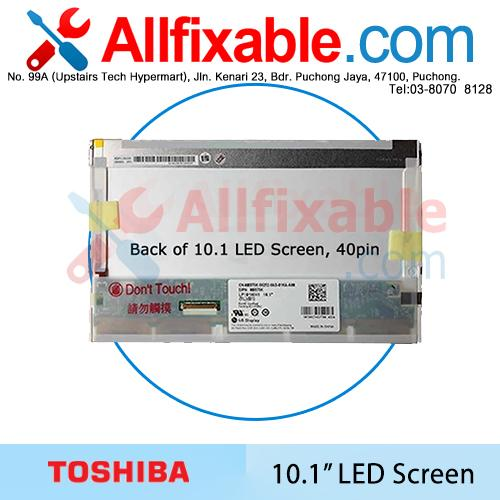 "10.1"" LED LCD Screen For Toshiba Mini NB200 NB305 NB505 NB520 NB550"