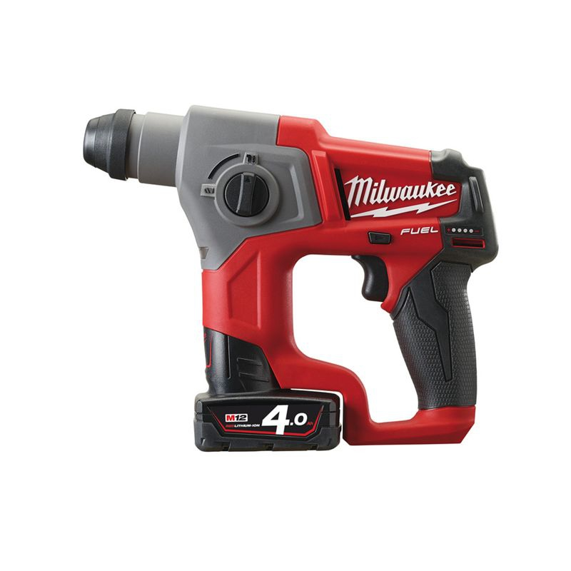 Milwaukee Battery Drill Cordless SDS Plus Compact Rotary Hammer M12CH-