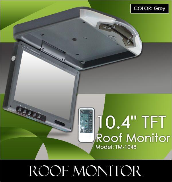 U003cBu003e10.4u201d TFT LCD Color Roof Monitor (TM 1048 ...