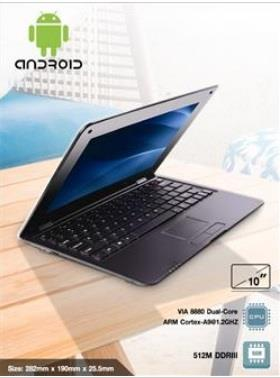 "10"" Android Mini Laptop/Notebook"
