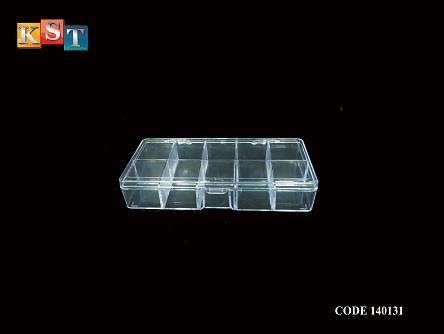 10 Compartment Transparent Plastic End 9152019 1115 Am