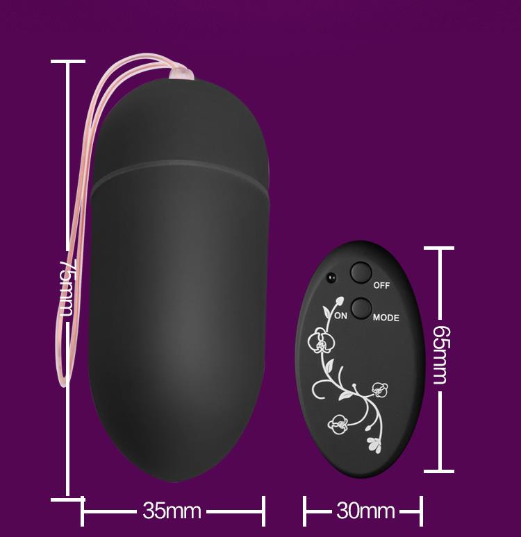 10 FREQUENCY REMOTE CONTROL BULLET (Vibration) Massager