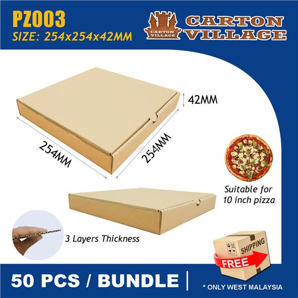 10 inch Pizza Box