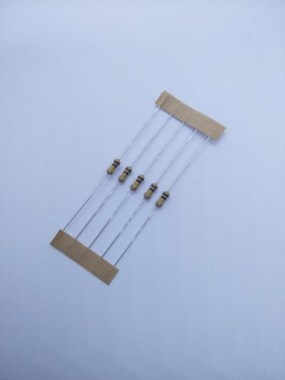 10 PCS 100k ±5% 0.25W, Through Hole Resistor